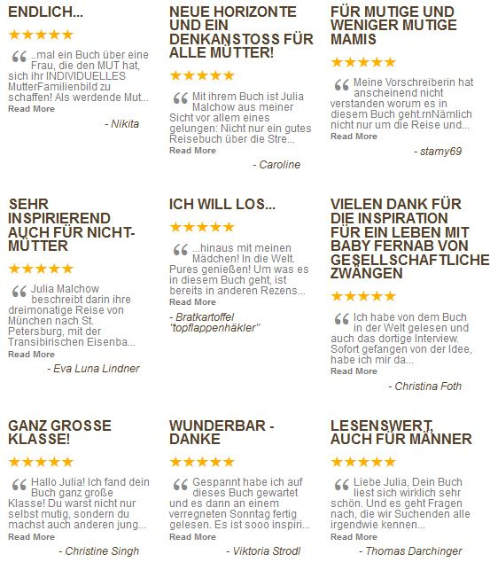 Aktuelle Reviews im Mai 2013