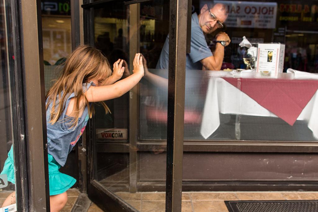 Restaurantbesuch mit Kindern