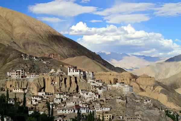 Die 10 schönsten Reiseziele in Nordindien - Lamayuru Kloster in Ladakh