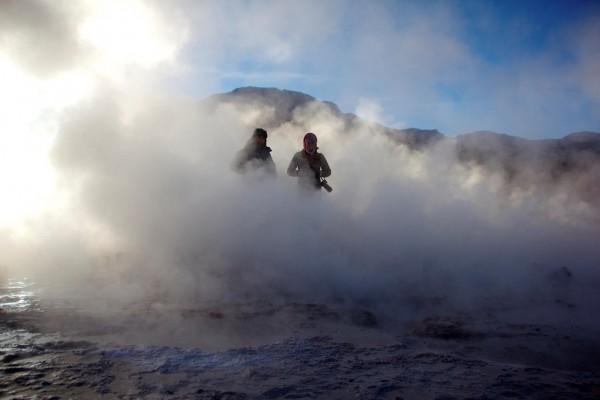 5 Einzigartige Erlebnisse in Chile - Awasi - Tatir Geysir, Atacama is the largest geysur field in the southern hemisphere