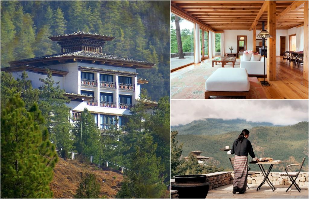 10 einzigartige Hotels - Uma Paro Bhutan