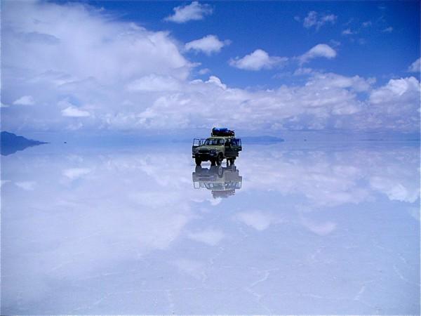 Salar de Uyuni Salzsee Bolivien Foto 2