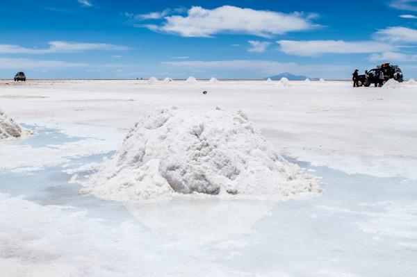 Salar de Uyuni Salzsee Bolivien Salzabbau 2